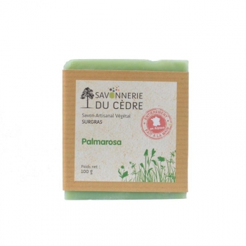 Savon naturel et artisanal Palmarosa