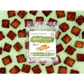 """biscuits gourmands aux abricots noix de cajou """"L'Ultra-Trail"""" BIO - 35g"""