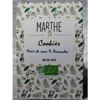 Cookies Bio Noix de coco Amandes 150g