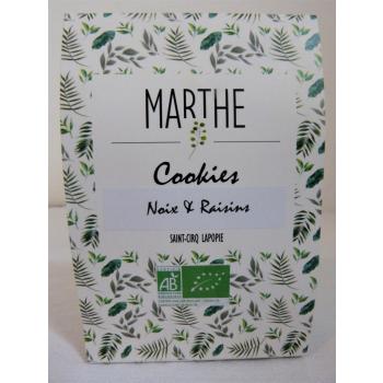Cookies Bio Noix Raisins 150g