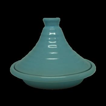 Tajine individuel Bleu des mers en céramique