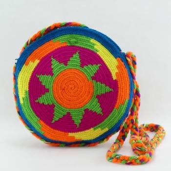 Petit Sac Wayuu rond Ethnique