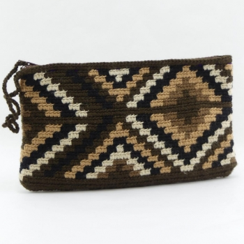 Pochette Wayuu Ethnique