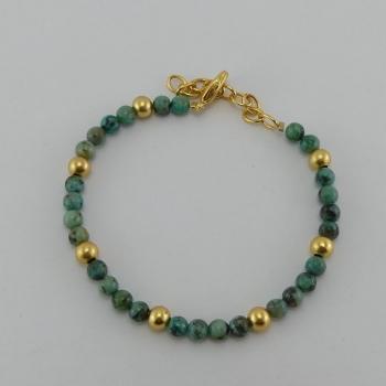Bracelet pierres Aventurine