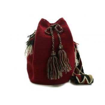 Mochila Wayuu Rouge