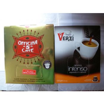 2 x 100 Capsules de café Italien compatible Nespresso