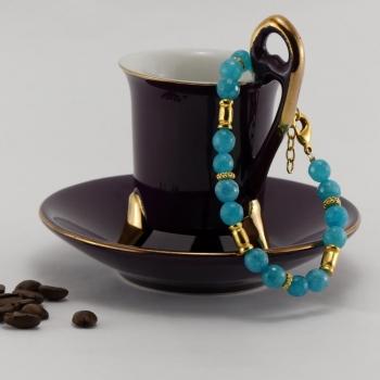 Bracelet Cristal Turquoise