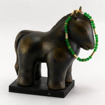 Bracelet Obsidienne verte