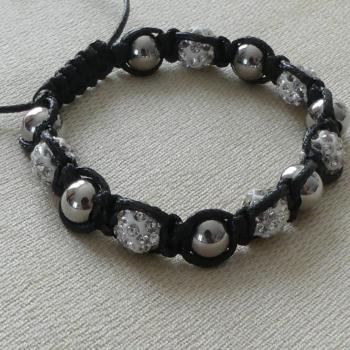 Bracelet duo argenté