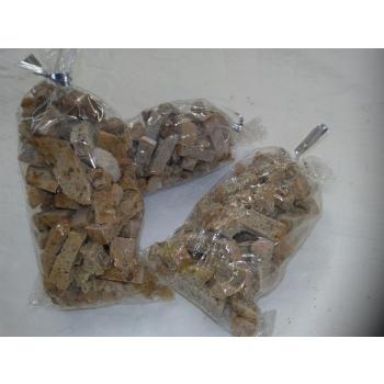 Croutons de pain d'epeautre et de blé
