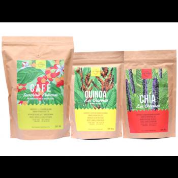 Coffret Découverte : Café Grain, Quinoa, Chia