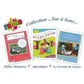 MINIMOTS – Pack de trois ouvrages : des Histoires de Lettres et de Sons