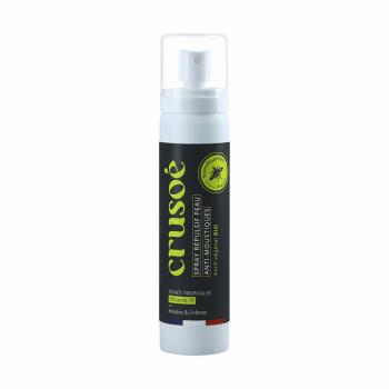 Crusoé spray répulsif anti-moustiques bio (75mL)