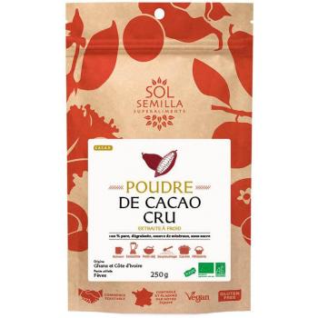 Cacao BIO Cru - Poudre - 250g