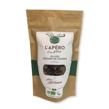 Apéro Croustillant Olives - Graines de courge - 120g