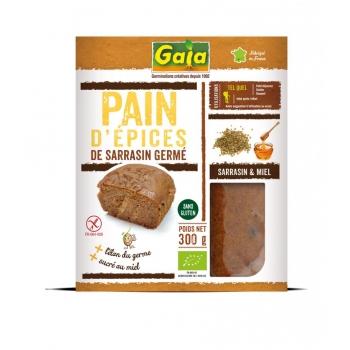 Pain d'épices au sarrasin germé 300g