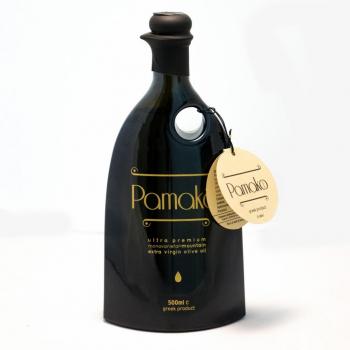 Huile d'olive PAMAKO vierge extra 500ml - Forte teneur en polyphénols