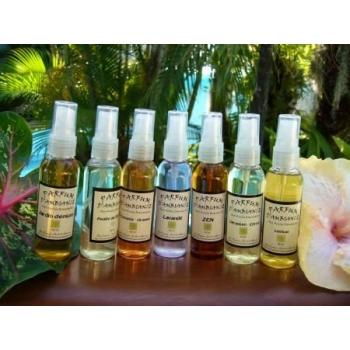 parfum d'ambiance huiles essentielles géranium et citron Run'essence