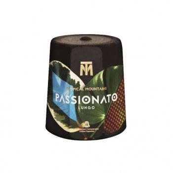 Capsules de café bio compostables PASSIONATO Lungo