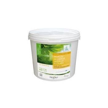 150 pastilles Lave-vaisselle Ecolabel en boîte.