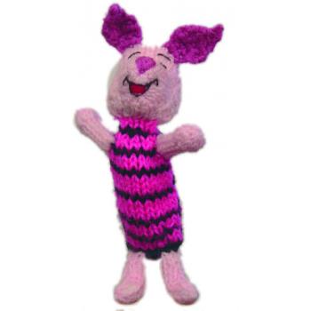 """Marionette tricotée """"porcelet"""""""
