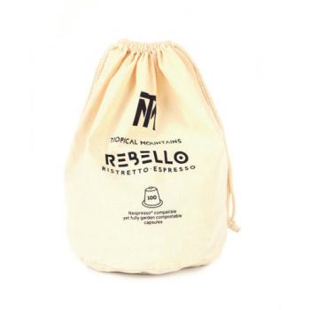 """Café ristretto 100 capsules """"home compost"""""""