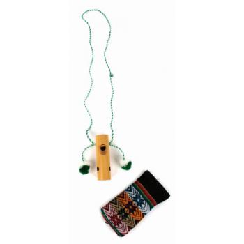 Mini-ocarina avec petit sac