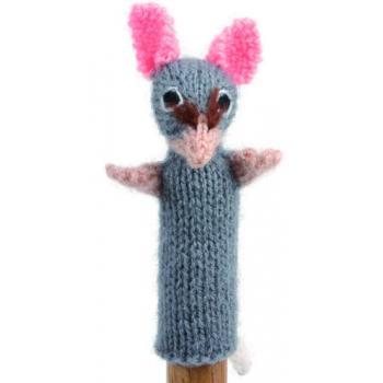 """Marionette tricotée """"souris"""""""