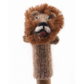 """Marionette tricotée """"lion"""""""