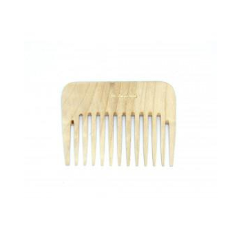 Peigne africain à bois à denture large
