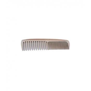 Peigne en bois familial à denture mixte - Denture large