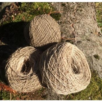 Pelote 100% fibre d'ortie