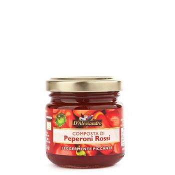 Les compotes : Peperoni Rossi (légèrement picant)