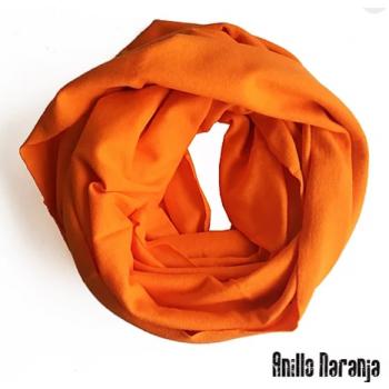 Le snood ou tour de cou Anillo   - Orange
