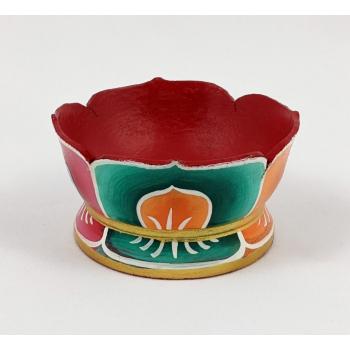 """Porte-encens artisanal Tibetain """"Fleur de Lotus"""""""