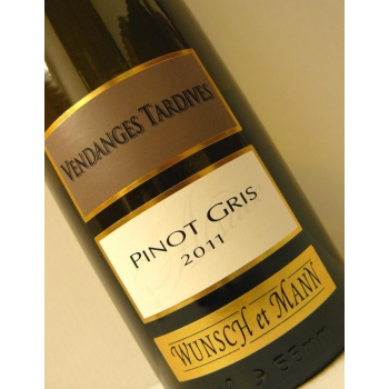 Pinot Gris Vendanges Tardives 2011