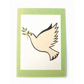 """Carte """"colombe de la paix"""""""