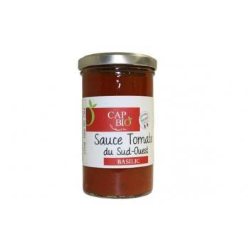 Sauce Tomate au Basilic BIO Origine Sud Ouest
