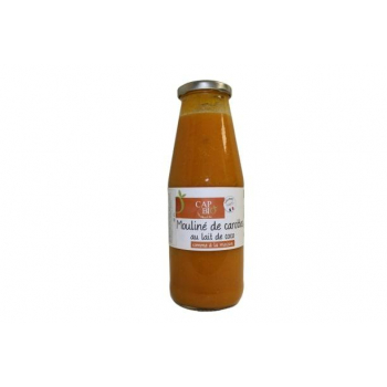 Mouliné de carotte coco BIO