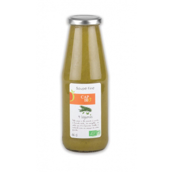 Soupe Fine aux Quatre Légumes BIO