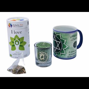 Mug magique Chakra Coeur – Coffret