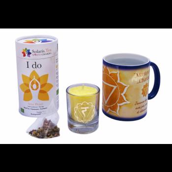 Mug magique Chakra Plexus Solaire – Coffret