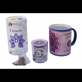 Mug magique Chakra Coronal – Coffret