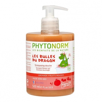 Shampooing-Douche Grenade-Fruits Rouges 500ml Bio - Phytonorm