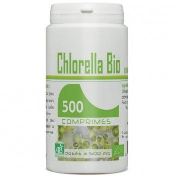 Pilulier de 500 comprimés de Chlorella Bio
