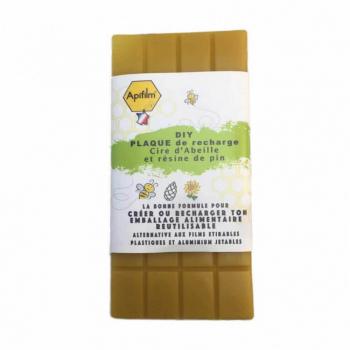 Plaque de cire DIY pour emballage alimentaire réutilisable