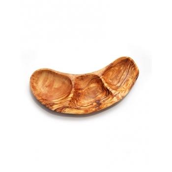 Plat pour apéritif en bois d'olivier