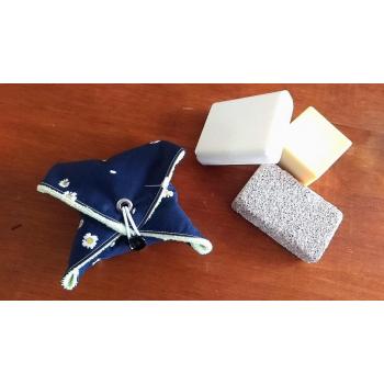 La pochette à savon - Pâquerette 1