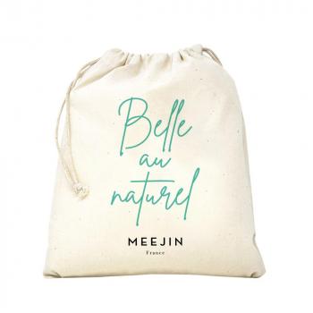 Pochon en coton Bio « Belle au naturel »