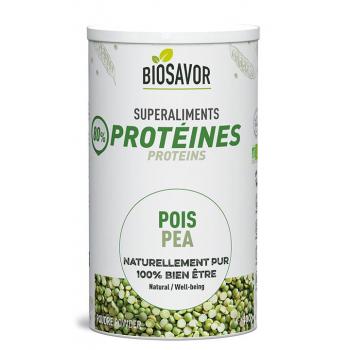 Protéine de pois en poudre Bio - 400g